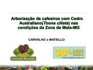 condições agroclimáticas, produtividade e qualidade do café
