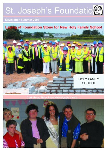 Summer Newsletter 2007.qxd - St Joseph's Foundation