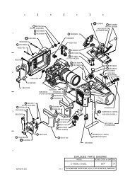 Olympus 50mm f3.5 Macro Lens Exploded Parts Diagram