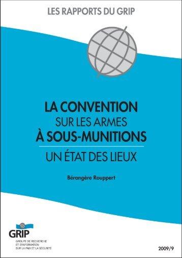 La convention sur les armes à sous-munitions - The EU Non ...