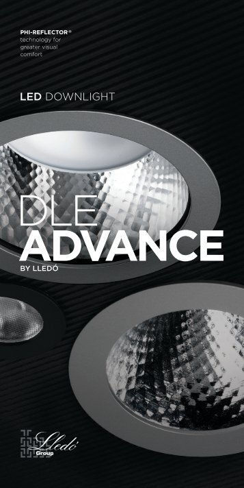 LED DOWNLIGHT - Lledo