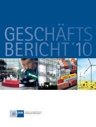 Geschäftsbericht 2010 - IHK Nürnberg für Mittelfranken