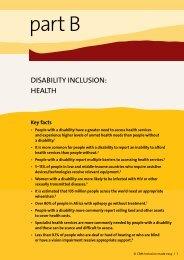 Inclusion Made Easy: Health - CBM