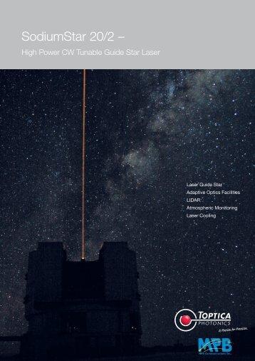 SodiumStar 20/2 – - Toptica