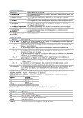 Principales tables de références - Page 4