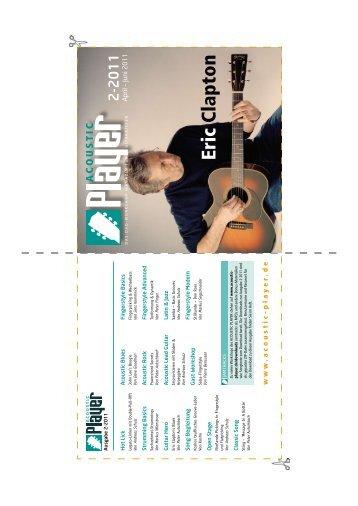 DVD-Cover Ausgabe 2-2011 - ACOUSTIC PLAYER