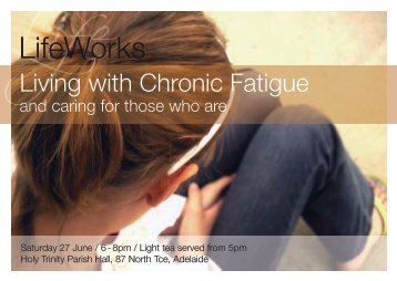 Download the flyer - ME/CFS Australia