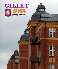 GILLET 2013 GILLET 2013 - Carlstads-Gillet