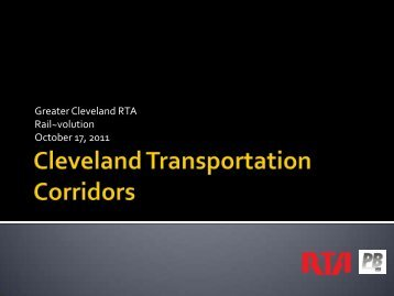 Greater Cleveland RTA Rail~volution October 17, 2011