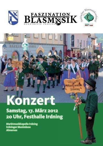 Faszination Blasmusik 2012 - Konzertprogramm