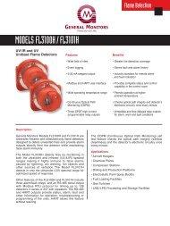UV/IR and UV Flame Detectors - Simark Controls