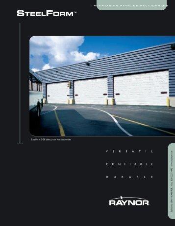 vers á tilconfiabledurable puertas en paneles seccionales