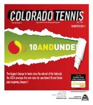 The biggest change to tennis since the advent - the Colorado Tennis ...