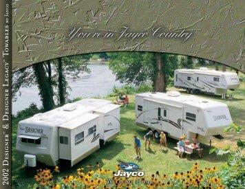 2002 Designer & Designer Legacy Towables - Jayco
