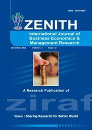 ZEBEMR DEC 2011 VOL 1 ISSUE 3 COMPLETE.pdf - zenith ...