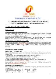Novembre 2011 - UIL SGK