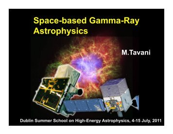 Space-based Gamma Ray Astronomy - DIAS