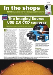 The Imaging Source USB 2.0 CCD Cameras - Astronomy Now