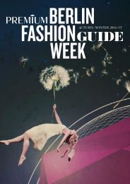 BERLIN WEEk - Berlin Fashion Week