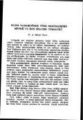 Page 1 Page 2 Page 3 ISSN 0041-4255 Birinci Baskx : 1937 Íkinci ... - Page 4