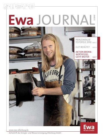 Ewa Journal 02 / 2010
