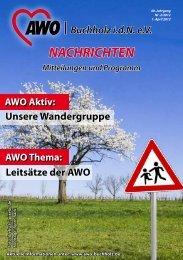"""Wir suchen für unsere """"Spaziergänger"""" - AWO Buchholz"""