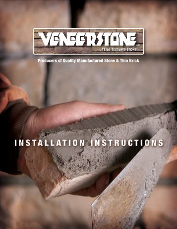 Installation Procedure - Brick America