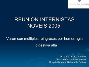 REUNION INTERNISTAS NOVEIS 2005: