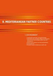 B. MEDITERRANEAN PARTNER COUNTRIES - EuroAfrica-ICT