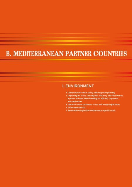B Mediterranean Partner Countries Euroafrica Ict