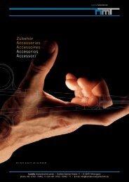 finden Sie unseren Zubehör-Katalog. - Handke Medizintechnik