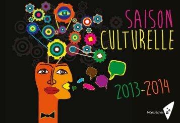 Téléchargez le catalogue de la saison culturelle 2013/2014 de ...