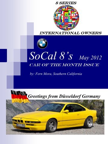 August 2012 Car Of The Month Bmw Car Club Norway