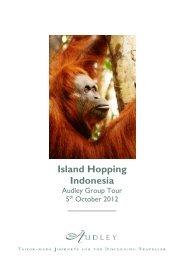Island Hopping Indonesia - Audley Travel