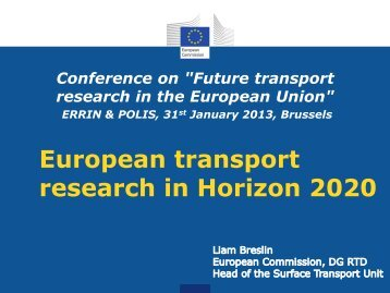 Transport Research in Horizon 2020