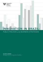 INNOVATION IN BRAZIL: - Woodrow Wilson International Center for ...