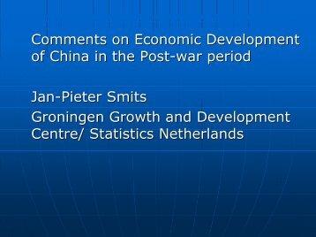 Jan Pieter Smits, University of Groningen