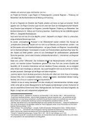 ein Projekt der Emscher œLippe Region im Förderprogramm