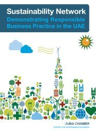 about the sustainability network - Dubai Chamber