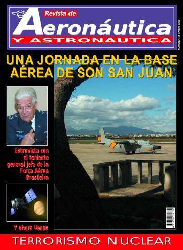 Portada marzo - Ejército del Aire - Ministerio de Defensa