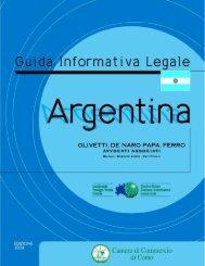Argentina - Camera di Commercio