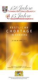 Festschrift - Fränkischer Sängerbund