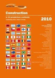 Construction - Lalive Lawyers Geneva