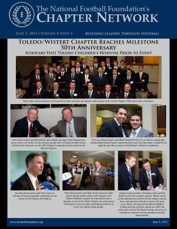 Volume 8, Issue 4 - National Football Foundation