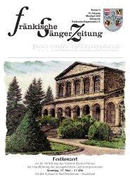 FSZ 2/2009 - Fränkischer Sängerbund