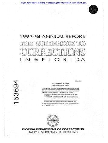 OffBVDER PROGRAMS - National Criminal Justice Reference Service