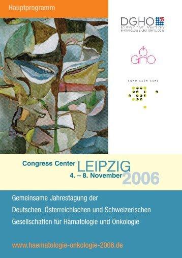 Mittwoch, 8. November 2006 - Congrex Schweiz