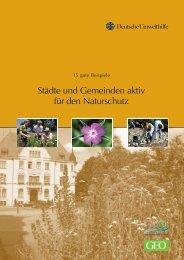Städte und Gemeinden aktiv für den Naturschutz