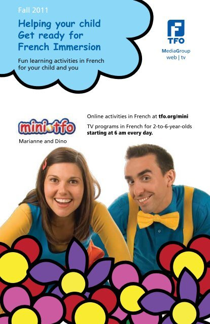 Helping your child Get ready for French Immersion - TFO