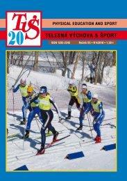 Obálka - 4 strany (.pdf) - Fakulta telesnej výchovy a športu